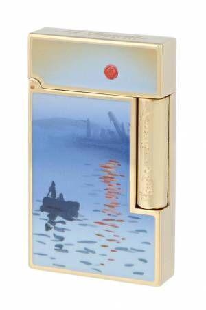 エス・テー・デュポン、モネの名作「印象、日の出」を描いた限定万年筆やライター