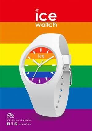 アイスウォッチ新作腕時計「レインボー」が数量限定で発売