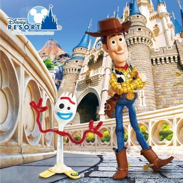 東京ディズニーランド&シーでディズニー/ピクサー映画『トイ・ストーリー4』の限定イベント