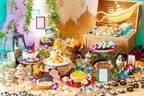 「アラジンと魔法のランプ デザートブッフェ」名古屋で、宮殿ケーキ&自由に作れるキラキラカスタムパフェ