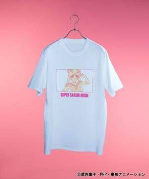 "WEGO×「美少女戦士セーラームーン」セーラー戦士Tシャツや""ルナ""刺繍のキャップ&クリアバッグ"
