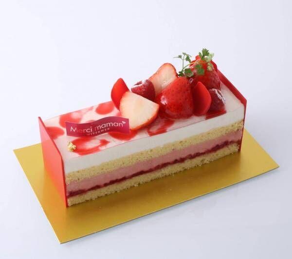 """ベルギー発ヴィタメールより""""母の日""""限定ケーキが登場、苺フレーバーの華やかな2種"""