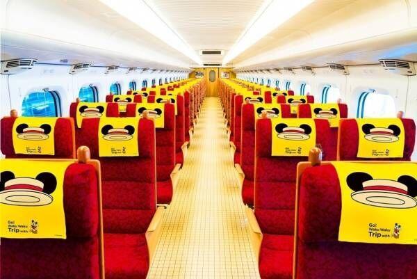 ミッキーマウスの新幹線が博多~熊本~鹿児島中央間を運行!限定グッズ販売も