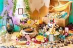 「アラジンと魔法のランプ デザートビュッフェ」埼玉・大宮璃宮で、宮殿やピラミッドのケーキなど