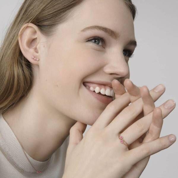 ディオール ファイン ジュエリー新作「ミミローズ」ダイヤモンドやルビー輝くチェーンリングやネックレス