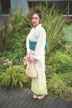 銀座三越の新作ゆかた2019 - スヌーピー絵柄入り伝統染め、イエロー&グリーンの植物柄など