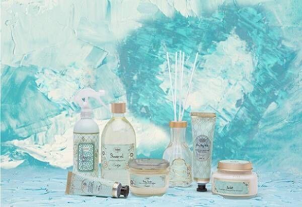 SABONの夏限定「ブリーズコレクション」マグノリア×アクアマリン香るボディミルクやハンドクリーム