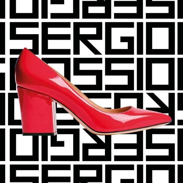 セルジオ ロッシ新作パンプス「セルジオ」日常使いOKなチャンキーヒール、豊富な素材&カラーで