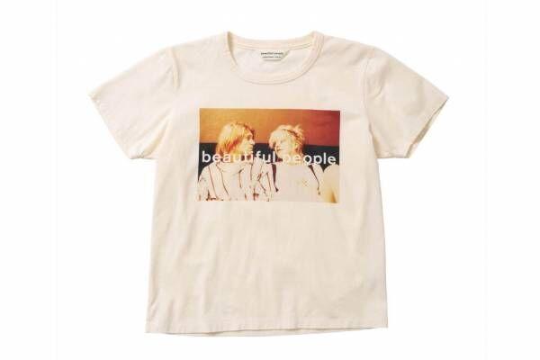 ビューティフルピープル×写真家・ケンジ クボのTシャツ、カート・コバーンの写真をプリント