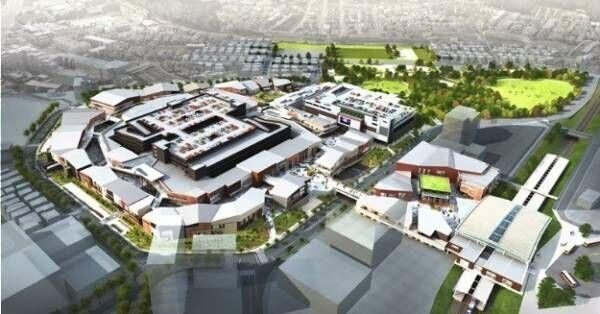 南町田グランベリーパーク19年11月誕生、約230店舗の新商業施設や町田唯一のシネコン