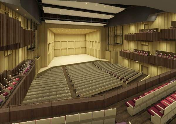 渋谷公会堂が「LINE CUBE SHIBUYA」として再オープン、こけら落とし公演はPerfume