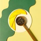 クスミティーの新紅茶「トロピカル ホワイト」とろけるマンゴー&パッションフルーツが香る