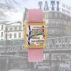 パリ発腕時計「ラプス」文字盤に80'sのパリメトロ地図などをデザインした新作モデル