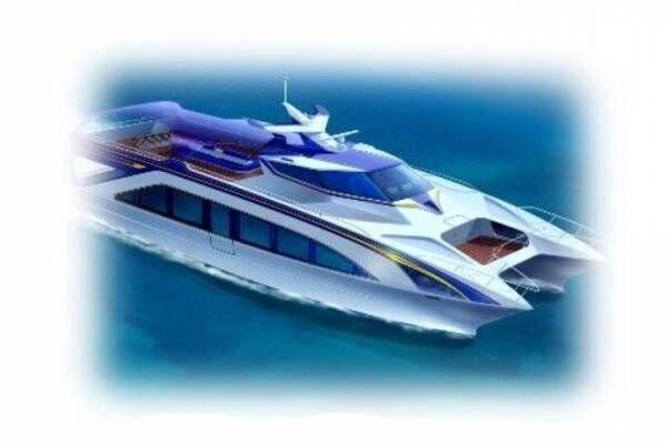 JR西日本と瀬戸内海汽船による「観光型高速クルーザー」20年夏導入、瀬戸内を巡る観光クルージング