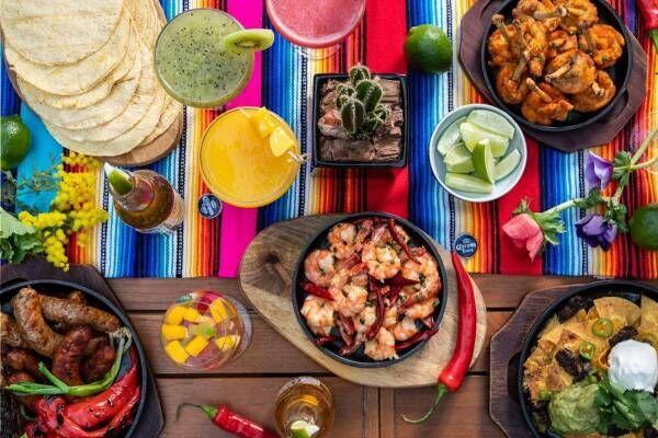 グランド ハイアット 東京「メキシカンビアガーデン」スパイシーなメキシコ料理とコロナビール