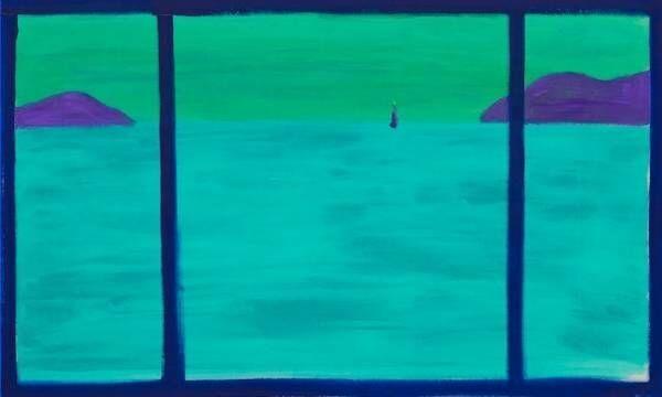 大宮エリーの絵画展「Peace within you」瀬戸内やイサム・ノグチ作品から着想した新作