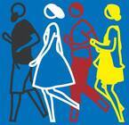 展覧会「ジュリアン・オピー」東京で、点と線で表現される生き生きとした人物や風景
