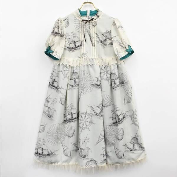 """エミリーテンプルキュート「ピータパン」着想のワンピース""""ウェンディ""""イメージのナイトドレスも"""