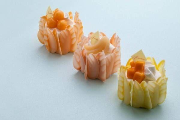 グランド ハイアット 東京の夏スイーツ、フルーツたっぷりの鮮やかベリーヌ&プレミアムケーキも