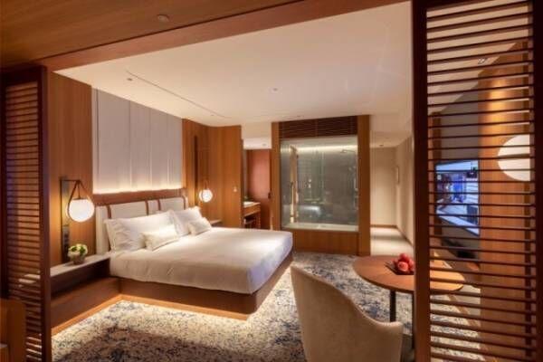 新ホテル「インターコンチネンタル横浜Pier 8」横浜ハンマーヘッドに、ベイビュー客室&ルーフトップ