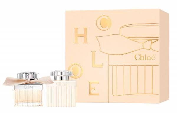 「クロエ オードパルファム」の限定コフレ、同じ香りのボディローションがセットになって限定発売