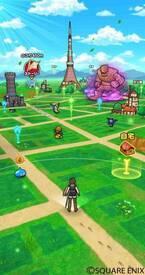 「ドラゴンクエストウォーク」現実世界を冒険するスマホ向け位置情報ゲーム、日本中がドラクエ世界に