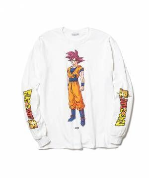 フラグスタフ×『ドラゴンボール』孫悟空やフリーザを描いたTシャツ、ビームス別注も