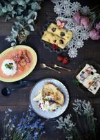 """花カフェ「グムグム(gmgm)」が高円寺に、""""食べられる花""""のクレープやフレンチトースト"""