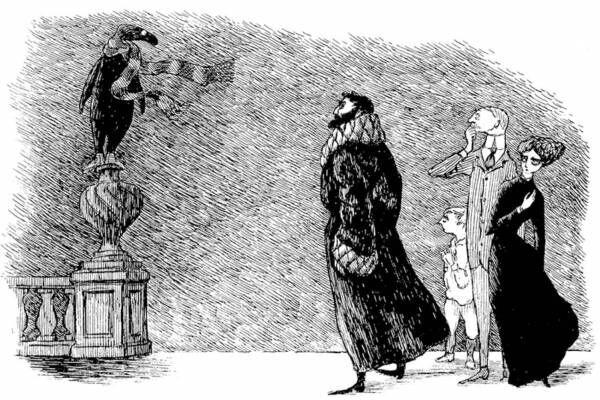展覧会「エドワード・ゴーリーの優雅な秘密」練馬区立美術館で、絵本やミュージカル「キャッツ」原作挿絵