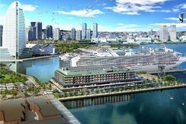 「横浜ハンマーヘッド」食がテーマの商業施設に国内初レストラン&カフェ、ホテル&客船ターミナルも