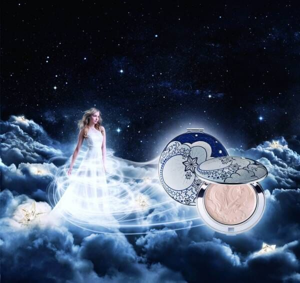 """コスメデコルテ年に1度の限定フェイスパウダー、""""天空の世界&星になった女神""""をイメージ"""