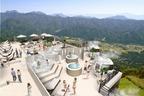 標高1400mビーチリゾート「白馬マウンテンビーチ」長野・白馬八方尾根に、ゴンドラサウナやグルメバー