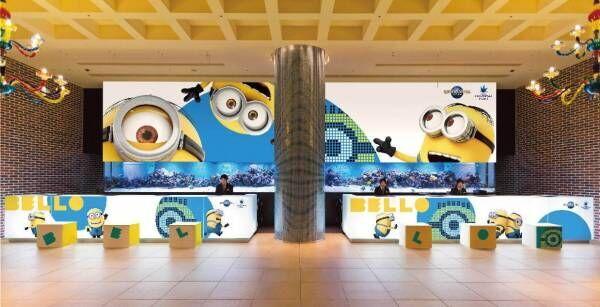ミニオンがホテルロビーをジャック!大阪USJホテル ユニバーサル ポートの装飾が一新