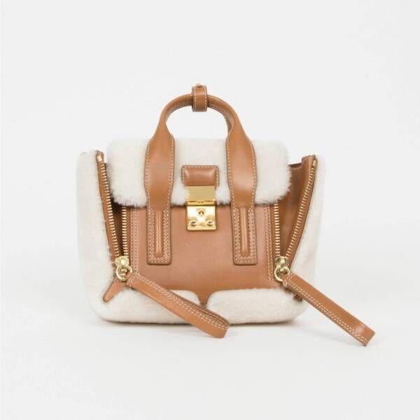 3.1 フィリップ リム新作バッグ、シアリングを飾った「パシュリ」やゼブラ柄「ルナ」
