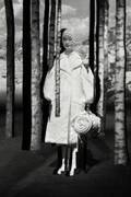 4 モンクレール シモーン・ロシャ 19年秋冬、パールやフラワーモチーフを配したダウン&ドレスなど