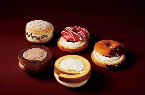 ミスド×モンシェール「堂島ローナツコレクション」ドーナツとロールケーキが融合した期間限定の新作