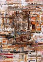 """「大竹伸朗 ビル景 1978-2019」水戸芸術館現代美術ギャラリーで、500点以上の""""仮想風景"""""""