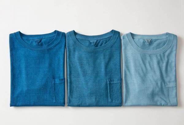 フィルメランジェ×藍染め職人集団リトマス、天然藍で染めたTシャツやスカート限定販売