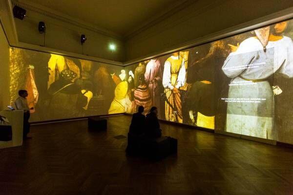 「見たことがないブリューゲル」六本木ヒルズで限定イベント、日本初スーパー解像度映像で名作細部まで公開