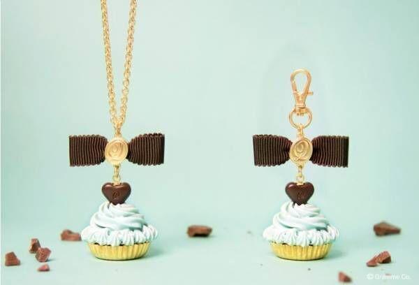 Q-pot.の新作アクセサリー、タピオカ入りアイス&ミントチョコのカップケーキがモチーフ