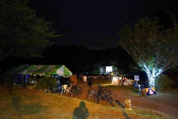 野外映画フェス「富士 湖畔の映画祭」富士山の麓でアウトドア映画鑑賞、監督・俳優のトークショーも