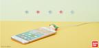 クレヨンしんちゃん・コジコジ・ワンピース、パクッとiPhoneケーブル断線防止「ケーブル バイト」