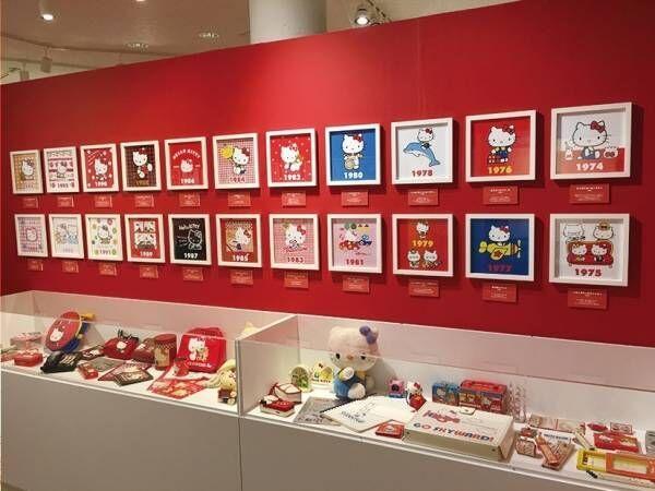 サンリオ「かわいいのヒミツ展」横浜人形の家で、ハローキティなど人気キャラの原画やグッズを展示