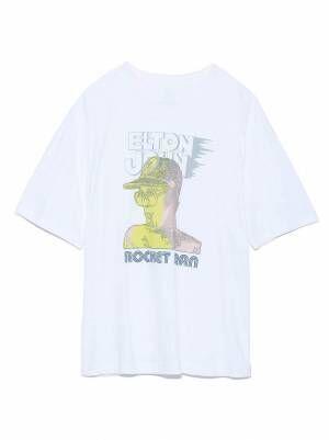フレイ アイディー「エルトン・ジョン」のグラフィックTシャツ、映画『ロケットマン』公開記念