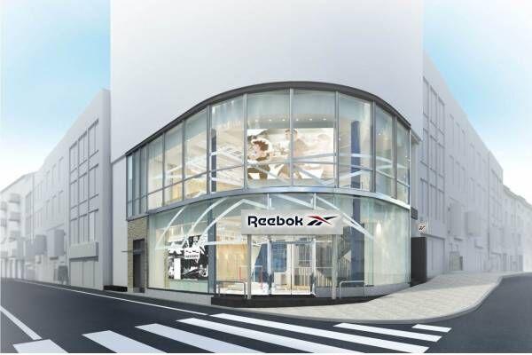 リーボック、東京に新旗艦店「リーボックストア 渋谷」ファッション&フィットネス両アイテムを幅広く展開