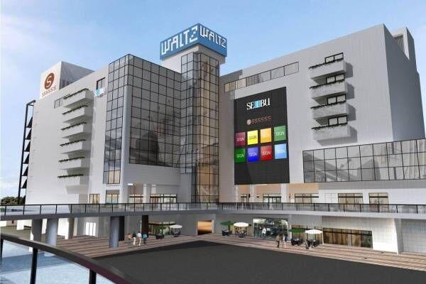 西武所沢店がショッピングセンターとして全館リニューアル、フードホールや家電量販店を導入