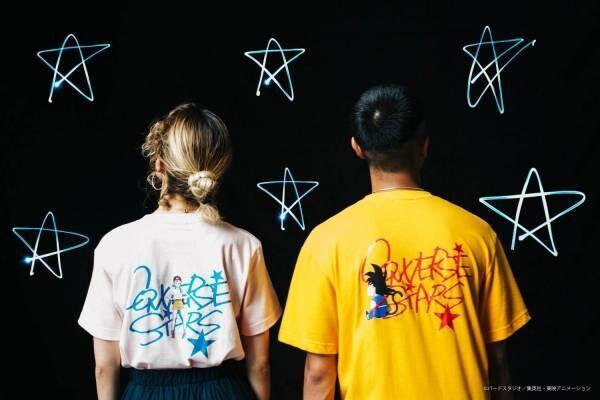 「コンバース スターズ」ドラゴンボール&Dr.スランプ アラレちゃんとコラボ、Tシャツやスウェット等