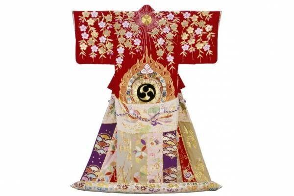 「能装束と歌舞伎衣裳」展、文化学園服飾博物館で - 江戸・明治・現代の華やかな芸能衣裳