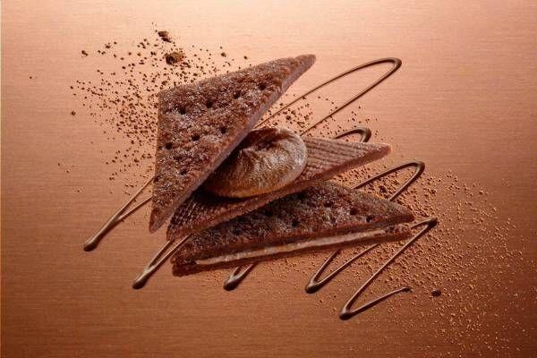 「アンリ・シャルパンティエ 京都御所南チョコレート研究所」誕生、新食感の八ッ橋ショコラサンド