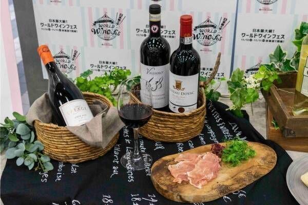 「ワールドワインフェス2019」東京・天王洲アイルで、ワイン約100種をフリーフローで提供